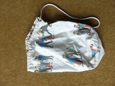 Tintin - Small Draw String / Duffel Bag - 1960s/70s - old and rare