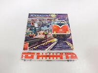 CP165-0,5 # Märklin H0 Katalog 1962/63 D DM Avec Coupon, Mint
