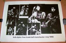 BOB DYLAN RARE CONCERT POSTER FREE TRADE HALL 1966 FAT MAN PRODUCTIONS 73 0F 200
