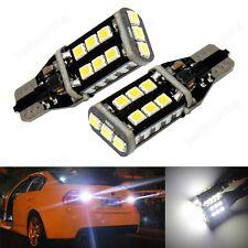 2x T15 W16W 955 921 Canbus LED 8W Backup Reverse Light Indicator Bulb DRL 12V UK