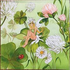 2 single paper napkins decoupage Serviette Kids Girl Princess Fairy Enchantress