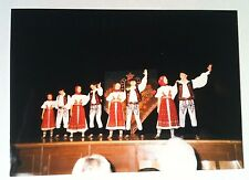 Vintage Photography PHOTO CUTE OLD WORLD GERMAN DANCERS ON CENTER STAGE WARSAW