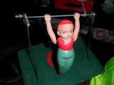 1945 Celluloid Wind-up Toy Arty The Trapeze Artist Japan 1940s TOYLAND TOY