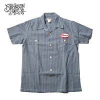 Bronson Vintage Motorcycle Club Short Sleeve Shirts 1940s Men's Casual T-Shirts