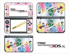 SKIN STICKER AUTOCOLLANT - NINTENDO NEW 3DS XL - REF 109 PRINCESSE DISNEY