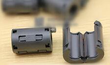 5pcs TDK 11mm Black Cable Clamp Clip RFI EMI EMC Noise Filters Ferrite Core