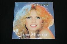 """JEANE MANSON   SP 45T 7""""   VIS TA VIE   1979"""