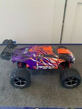 Traxxas 1/16 E-revo VXL Brushless 4wd RTR RC Truck Purple W/tsm ID, Charger, etc