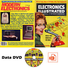 Modern Electronics Magazine & Electronics Illustrated Magazine over 200 Issues!