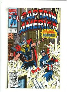 Captain America #395 NM- 9.2 Marvel Comics 1991 Thor app.