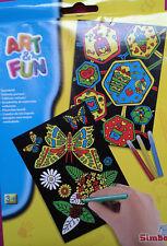 Simba Art&Fun Samtbild | Kreatives Malset für Kinder ab 3 Jahre
