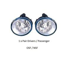 Renault Trafic X83 2001-2015 Front Fog Spot Light / Lamp Units 1 x Pair OSF NSF
