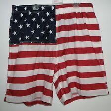 USA Flag Old Navy Swim Trunks Size Large
