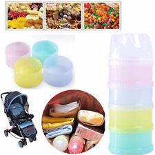 Baby Ernährung Milchpulver Dispenser Behälter mit 4 abnehmbare Fächer Hot SALE