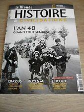 HISTOIRE & CIVILISATIONS  N° 61  MAI 2020  /  L'AN 40, QUAND TOUT SEMBLAIT PERDU