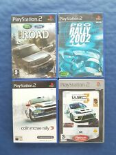 Sony PlayStation 2 PS2 Lot de 4 jeux courses de rallyes, complets