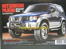 Tamiya 1/10 R/C  MITSUBISHI PAJERO METALTOP WIDE  CC-01 Off Road Car 47331 49490