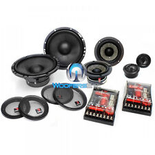 "FOCAL 165A33 6.5"" 3-WAY 160W RMS COMPONENT SPEAKERS MIDS CROSSOVERS TWEETERS NEW"