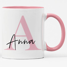 Tasse mit Namen und Buchstaben - Jeder Name möglich - Kaffebecher - Namenstasse
