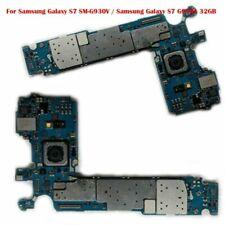 Para Samsung Galaxy S7 SM-G930V/S7 G930A motherboard Desbloqueado Con Cámara Trasera