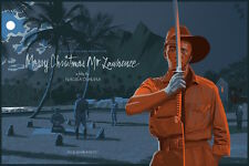MERRY CHRISTMAS MR LAWRENCE LAURENT DURIEUX DAVID BOWIE Limited edition print