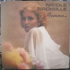NICOLE CROISILLE album FEMME + BO FILM HISTOIRE D'O LP33T PORT A PRIX COUTANT