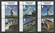 GB Stamps 2017 'Windmills and Watermills' - U/M.