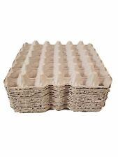Egg Flats Pulp Fiber Biodegradable  by MT Products - (15 Pieces)
