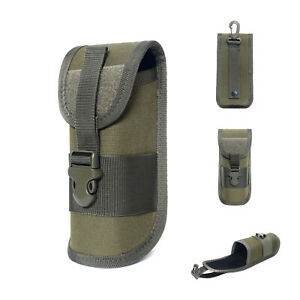 Outdoor Tactical Molle Hard Glasses Case Eyeglasses Sunglass Holder Pouch Bags