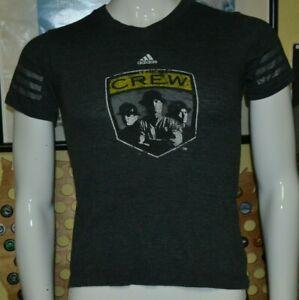 Girls Retro Columbus Crew SC Soccer Old Logo Jersey T Shirt Medium 10-12 Soft