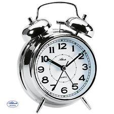 ATLANTA 1646/19 Réveil quartz analogique Réveil-matin Mécanique à Double