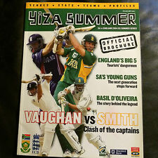 SOUTH AFRICA v ENGLAND OFFICIAL TOUR BROCHURE 2004/05 SERIES