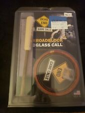 New Dead End Game Calls Roadblock Cedar Glass Turkey Call Rb001