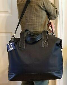 YSL Yves Saint Laurent Weekender Black Overnighter Duffle Bag Travel Carryon NWT