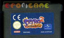 SPYRO 2 SEASON FLAME Gameboy Advance Versione Europea ••••• CARTUCCIA