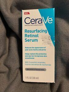 CERAVE Resurfacing Retinol Serum w/ 3 Essential Ceramides Licorice Niacinamide