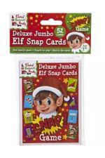 Jumbo Elf Snap Play Cards Christmas Activity Family Santas Elf Christmas Game