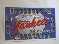 NEW YORK YANKEES 1999 World Series Champions TEAM PHOTO POSTER Derek Jeter