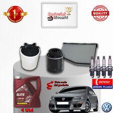 Filtres Kit D'Entretien Huile Bougies VW Passat VI 1.4 TSI 90KW 122CV à Partir