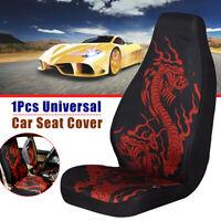 1Pcs Universal Dragon Car Van Seat Cover Vehicle Front Seats Cushion Protector