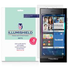 iLLumiShield Matte Screen Protector w Anti-Glare 3x for Blackberry Leap