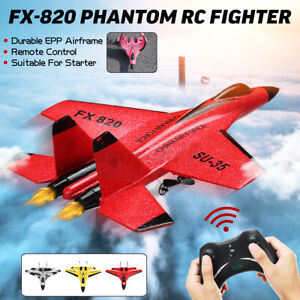 FX-820 Remote Control Fighter Jet Fixed Wing RC Airplane 2.4G Aircraft Plane