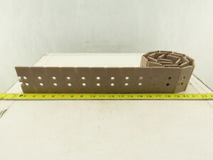 "Regina 820T Flite Top 3-1/4"" Side Flex Radius Table Top Conveyor Chain 55"""