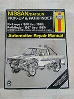 Repair Manual Haynes 771 NISSAN Datsun Pick-ups 720 Series 1980-1985 All 4WD 2WD