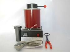 110V Electric Melting Furnace Melt Scrap Jewlery - Silver Gold Melting 2kg