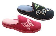 pantofole ciabatte da donna blu