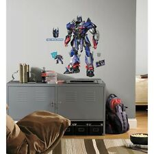 New GIANT OPTIMUS PRIME WALL DECALS Transformers Age of Extinction 13 Stickers