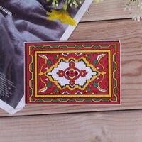 1:12 Dollhouse miniature national style mat floor coverings for dollsHouse de UP