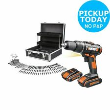 WORX Max Cordless Hammer Drill with 2 20V Batteries