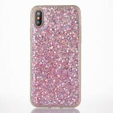 Luxury Bling Glitter Sparkly Soft Gel Phone Case Cover For iPhone 5 6 7 8 X Plus